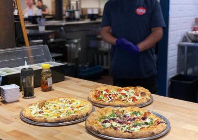 Tildas Pizza selection